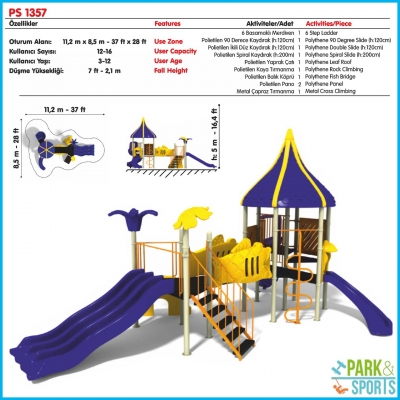 Slides, Swings